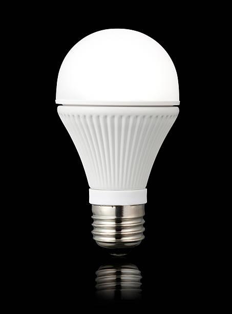 led-lichter glühbirne - glühbirne e27 stock-fotos und bilder