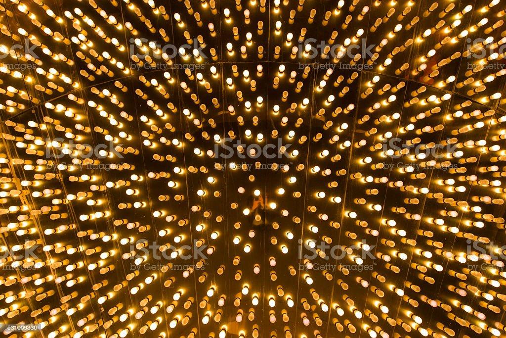 Light bulb background stock photo