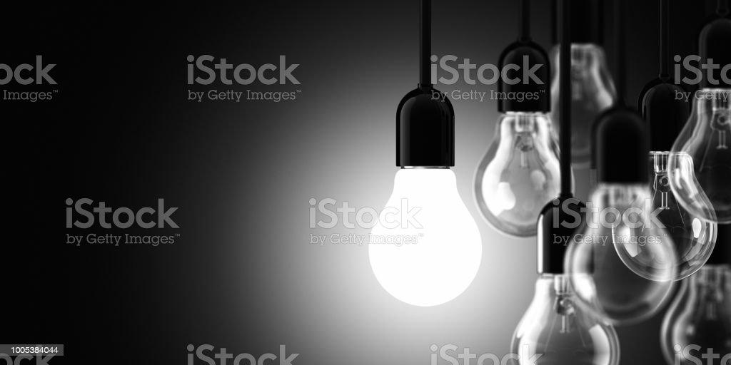 Glühbirne Konzept – Foto
