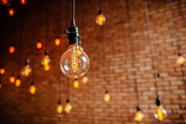 Glühbirne filament retro-vintage-Stil – Foto