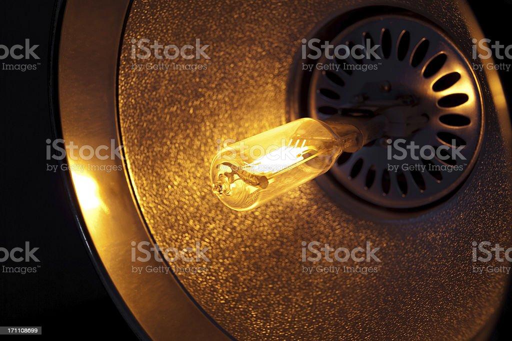 Light Bulb Glowing royalty-free stock photo