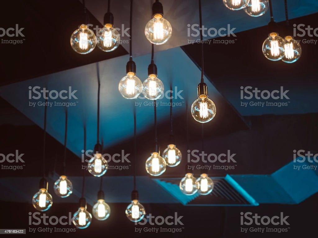 Light bulb Interior decoration object stock photo