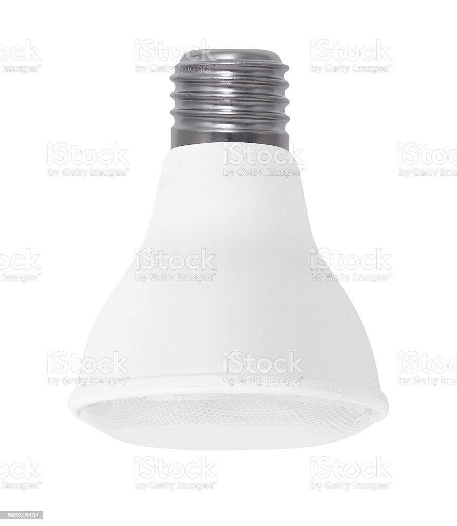 Light bulb, isolated royalty-free stock photo