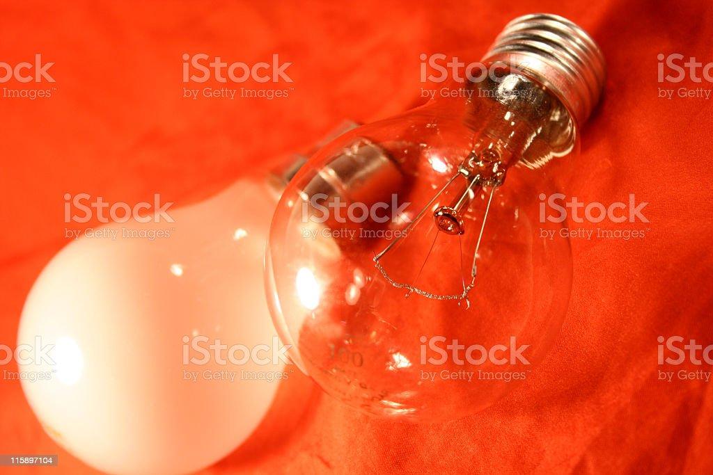 light bulb lamps royalty-free stock photo