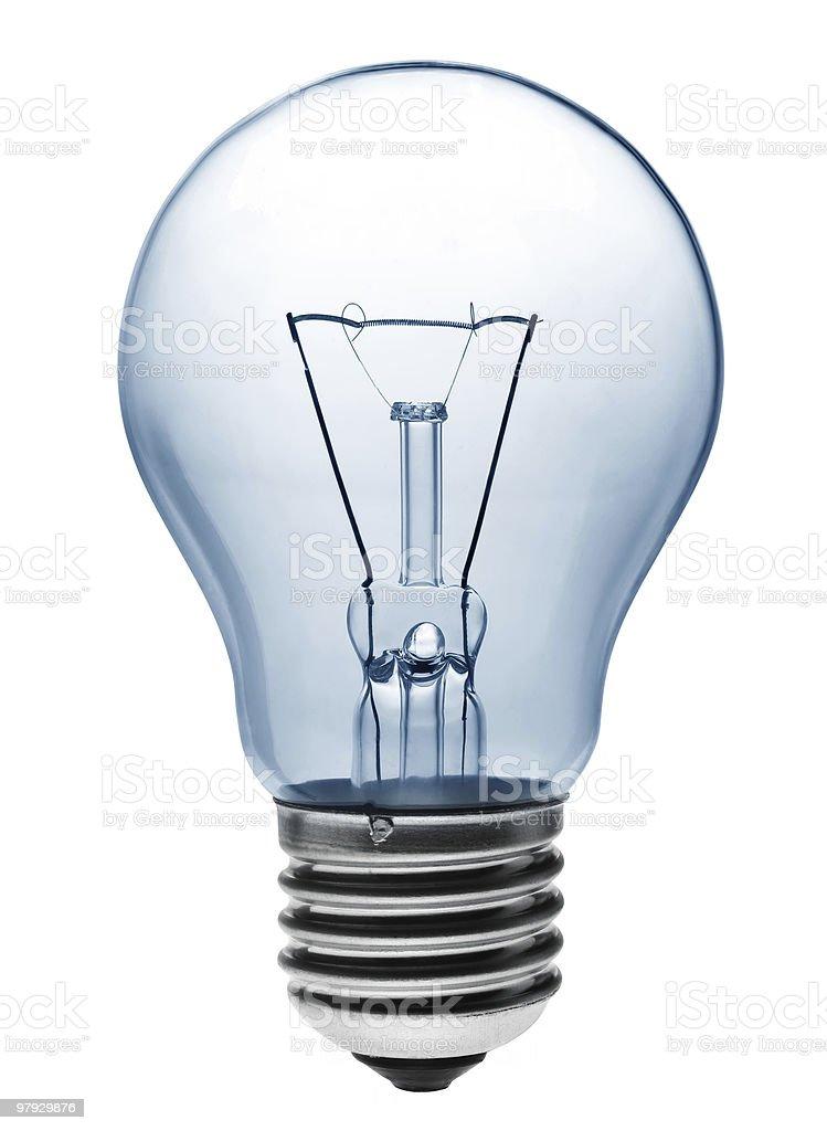 Light bulb lighting royalty-free stock photo