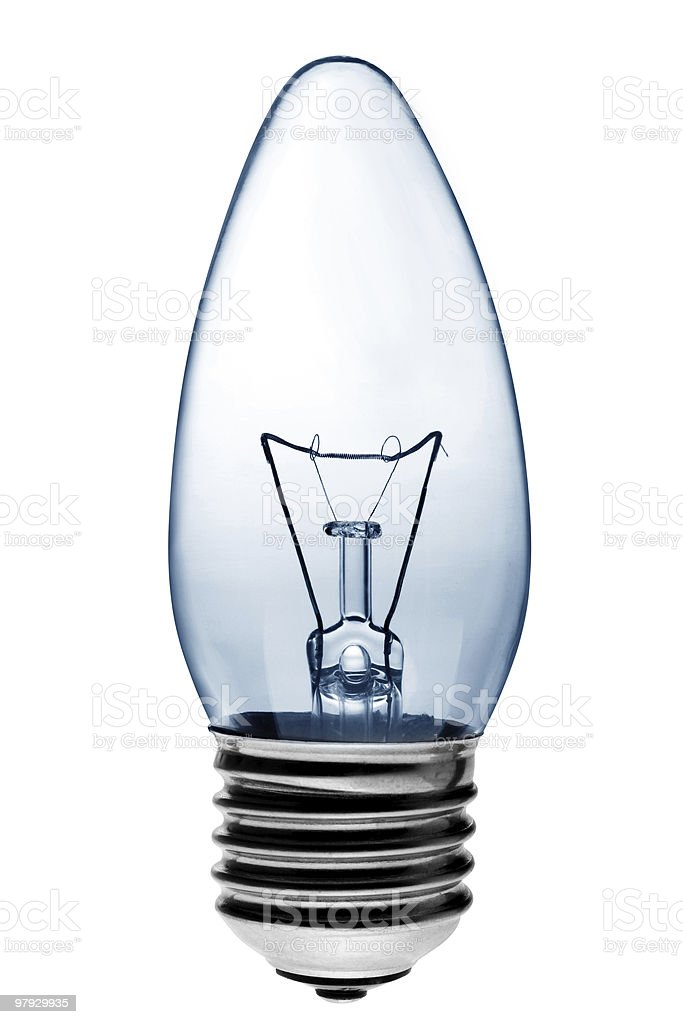 Light bulb lighting royalty-free stock photo