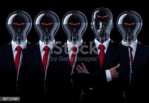 istock Light Bulb Man Leadership 537121631