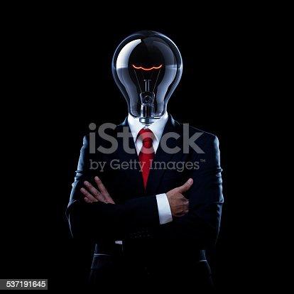 istock Light Bulb Man 537191645