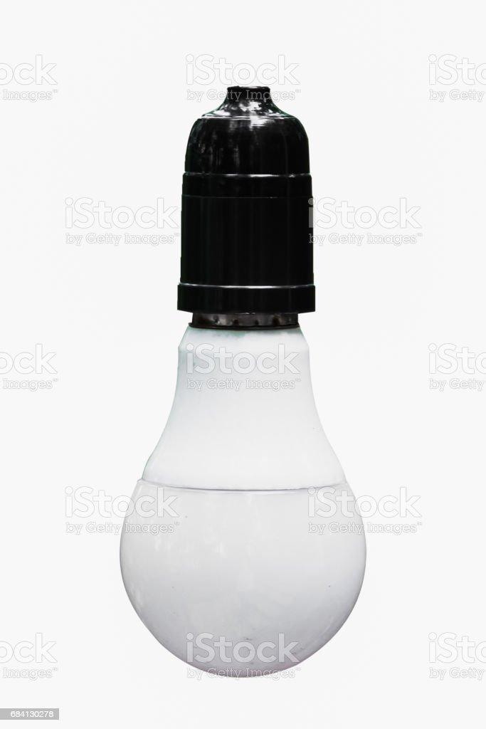 Light bulb on isolate background royalty free stockfoto