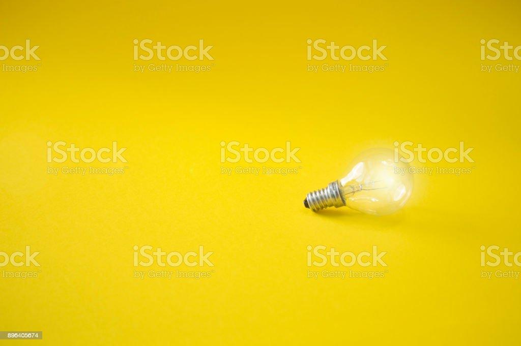 light bulb on colorful background, energy eco concept, ideas, energy,...