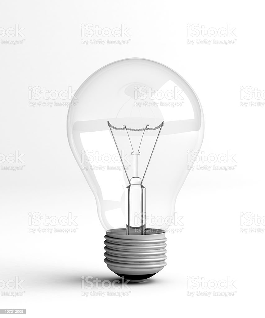 Light bulb  Abstract Stock Photo