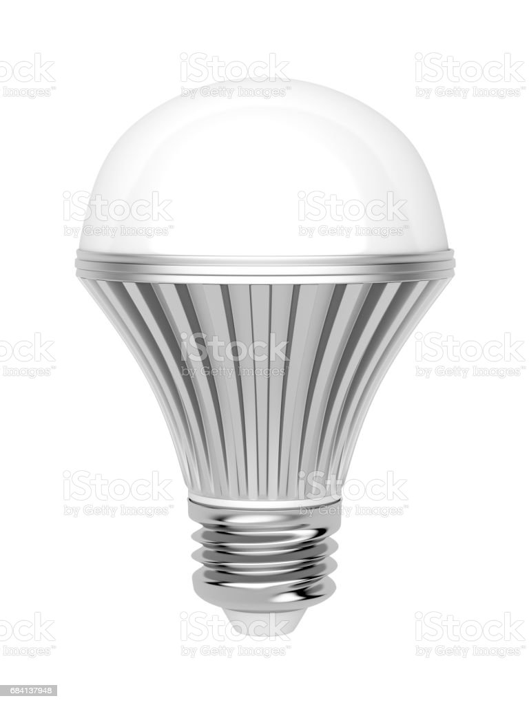 LED light bulb foto stock royalty-free