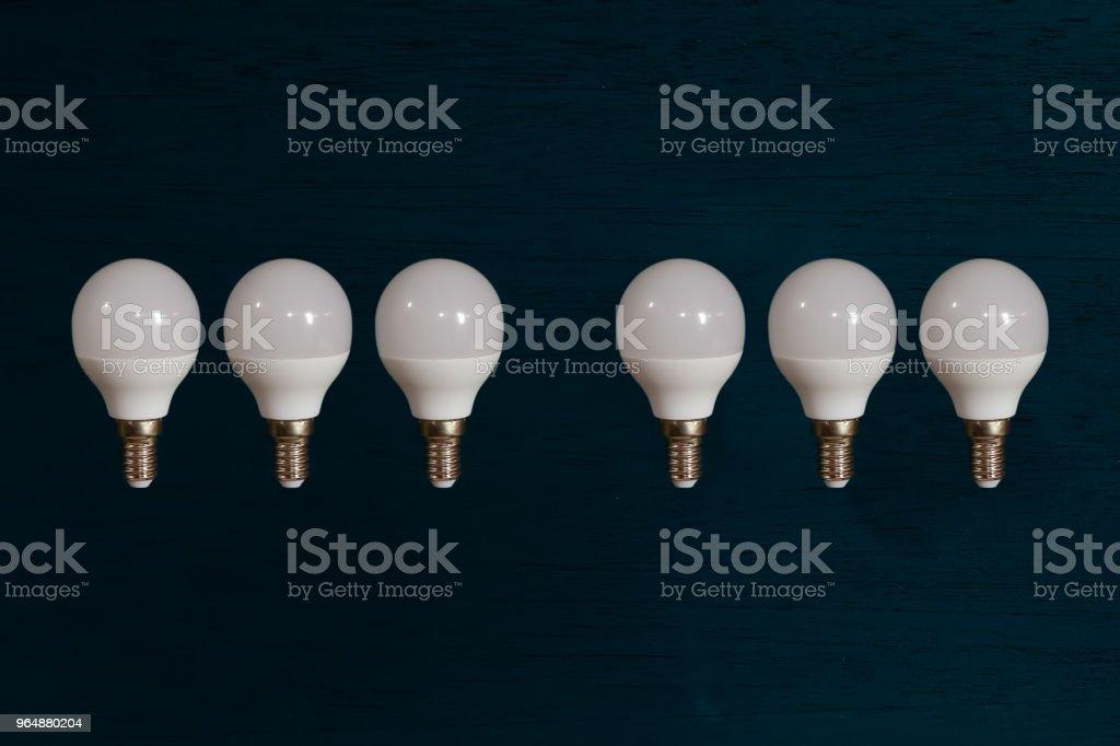 燈泡 - 免版稅一組物體圖庫照片