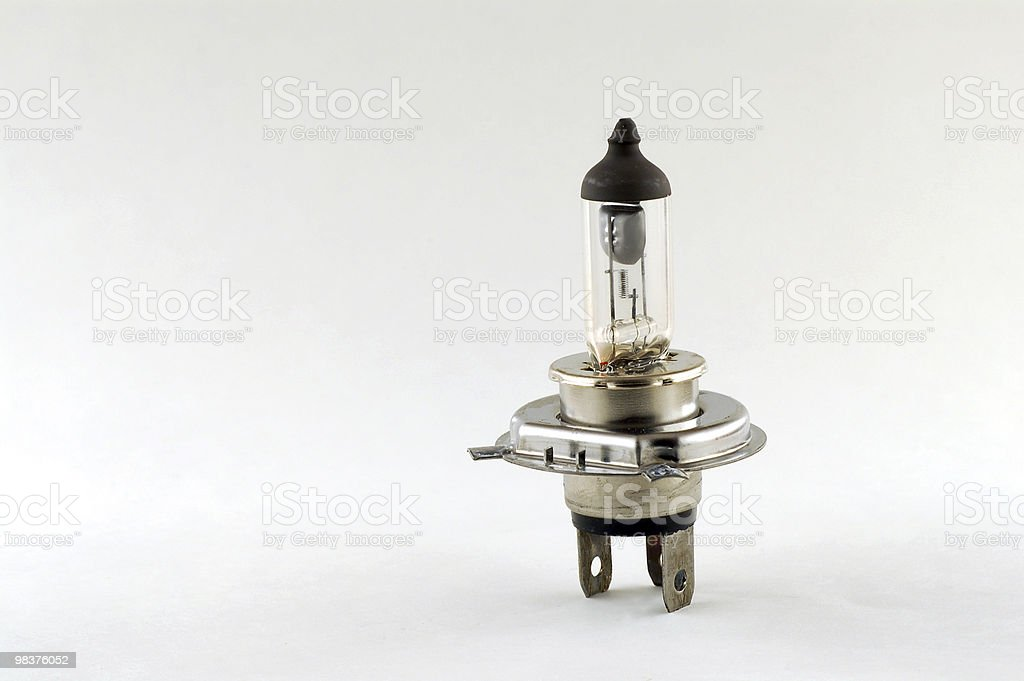 Light bulb royalty-free stock photo