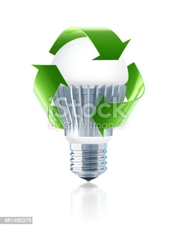 Led Light Bulb Recycling Stock Photo & More Pictures of ...