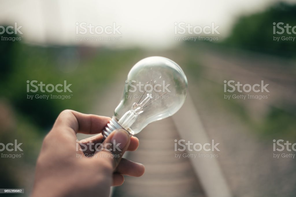 Light Bulb Represent Creativity zbiór zdjęć royalty-free