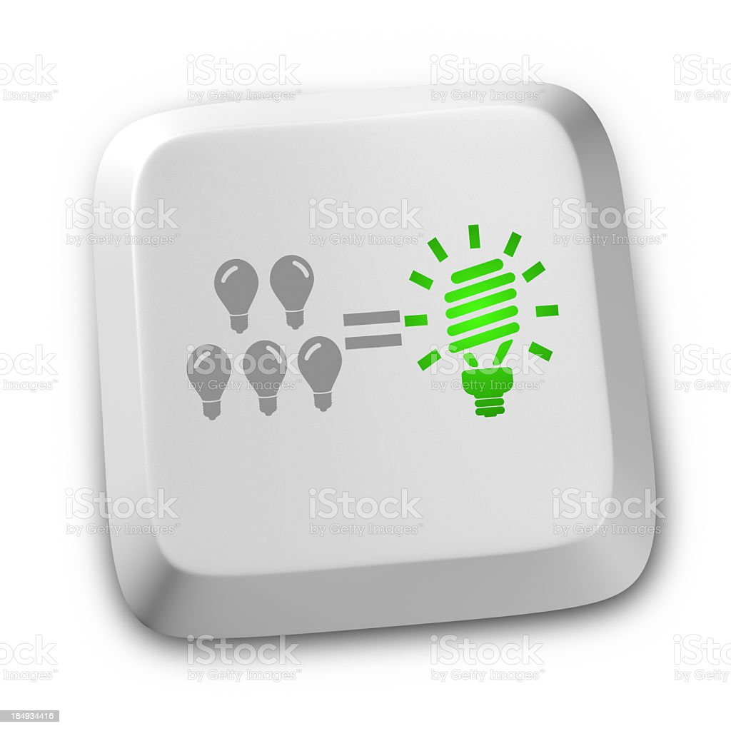 Light Bulb teamwork Concepts royalty-free stock photo