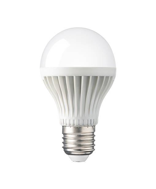 led glühbirne, technologie elektro lampe für energieeinsparung und umweltschutz - glühbirne e27 stock-fotos und bilder