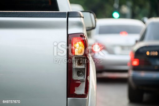 istock Light bulbs broken back car 649757670