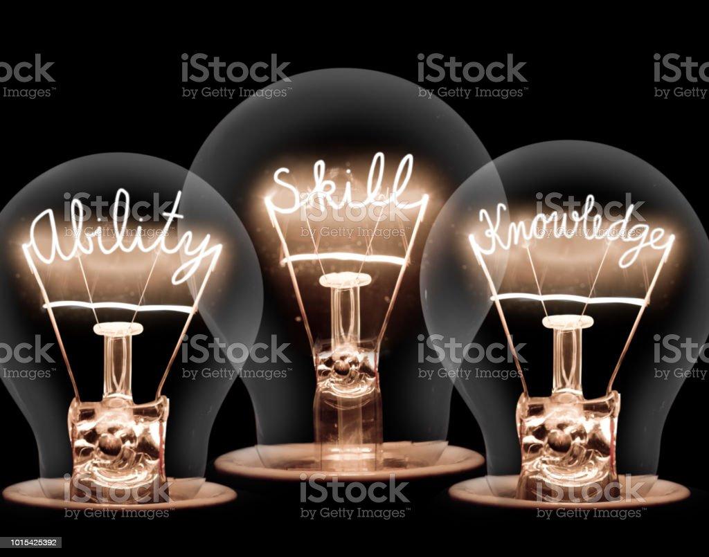 Ampoules Concept - Photo de Affaires libre de droits