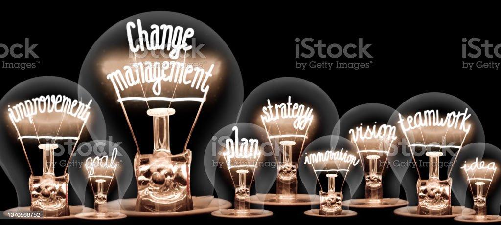Light Bulbs Concept - Royalty-free Aspiração Foto de stock