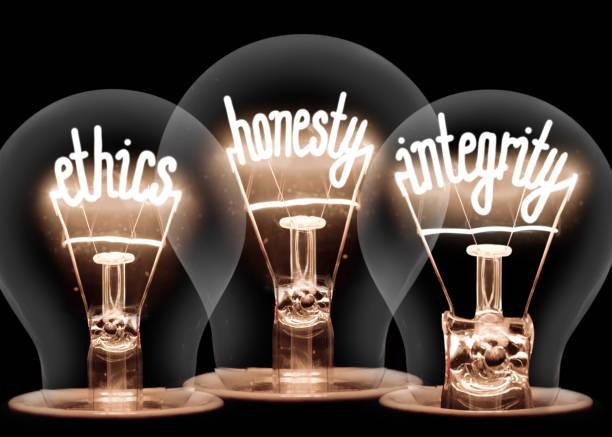 Konzept für leichte Glühbirnen – Foto