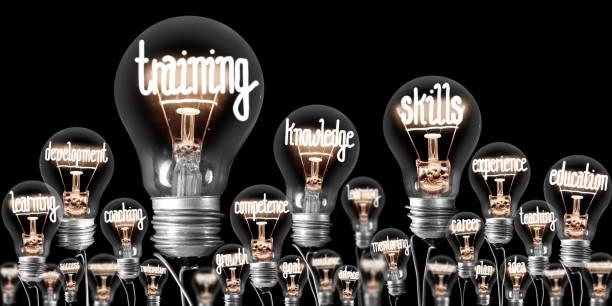 燈泡概念 - 專長 個照片及圖片檔