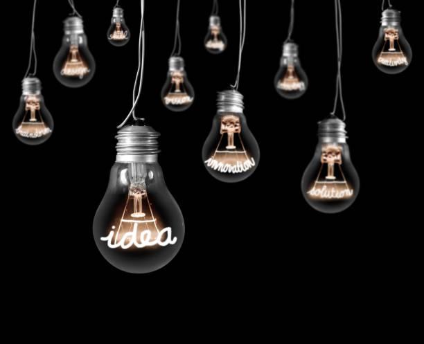 Glühbirnen-Konzept – Foto