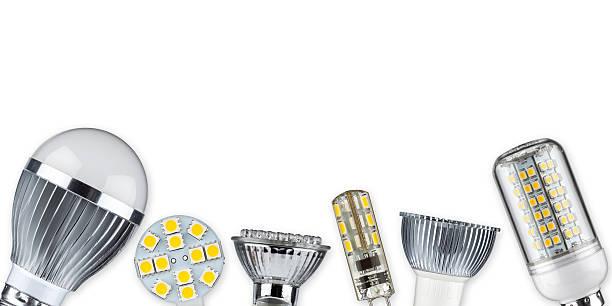 led-lampen - glühbirne e27 stock-fotos und bilder