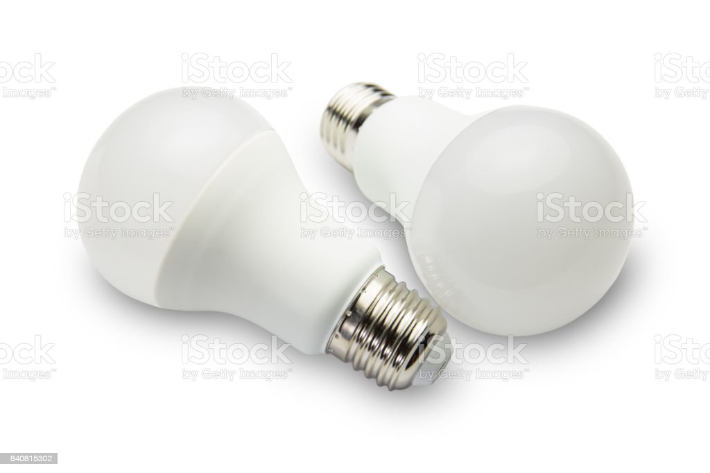 LED light bulbs. stock photo