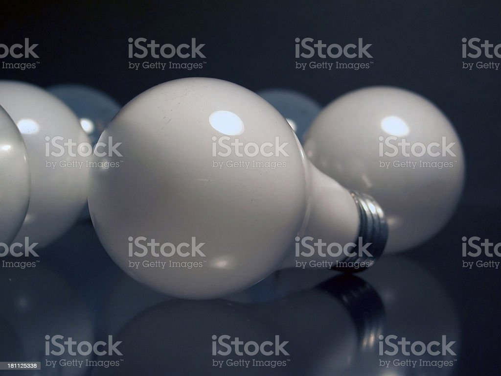 Light Bulbs - Scattered 01 royalty-free stock photo
