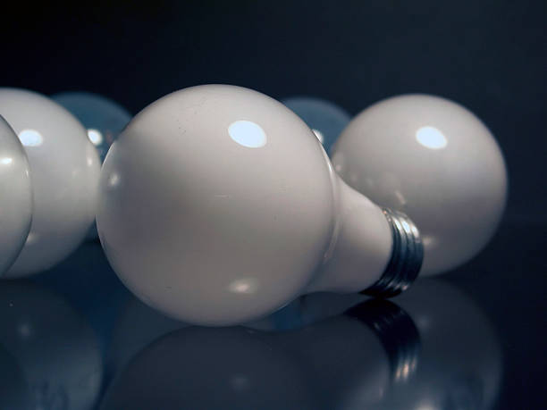 Light Bulbs - Scattered 01 stock photo