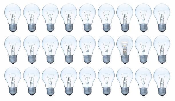 Glühbirnen-Bild – Foto