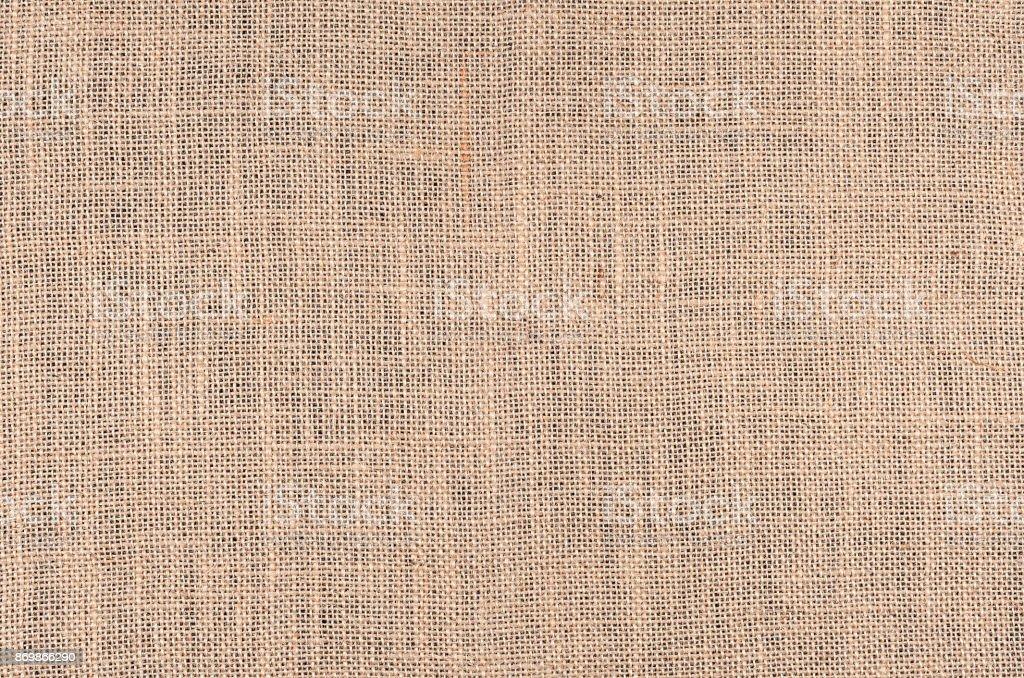 Light burlap texture stock photo