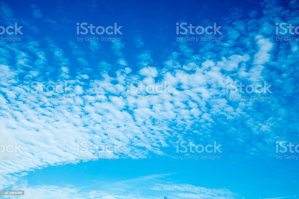 Light clouds of sky stock photo