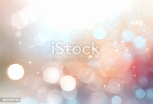 istock Light colorful blurred background. 852599760