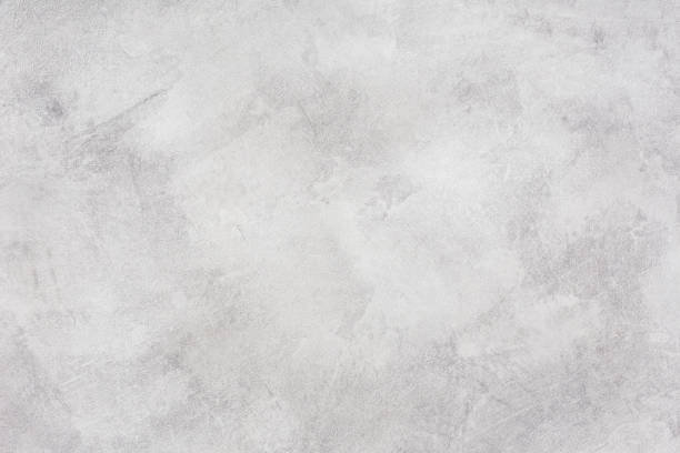 Light concrete wall - grunge background stock photo