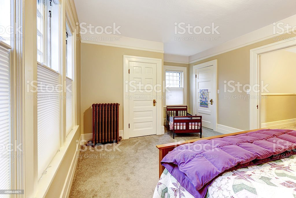 Light Cosy Small Bedroom Stock Photo Download Image Now Istock