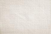 Light cream linen fabric texture wallpaper background
