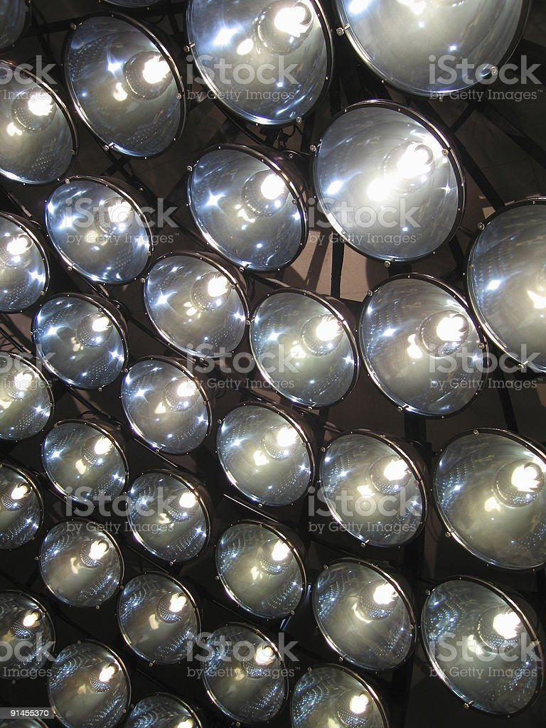 Light dome royalty-free stock photo