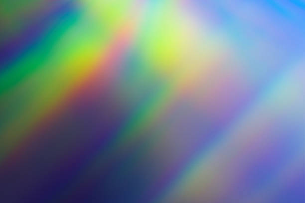lichteffect achtergrond - lichtbreking stockfoto's en -beelden