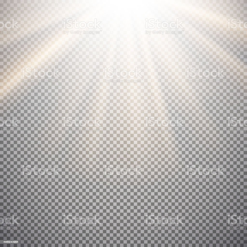 Light effect on a checkered background stock photo
