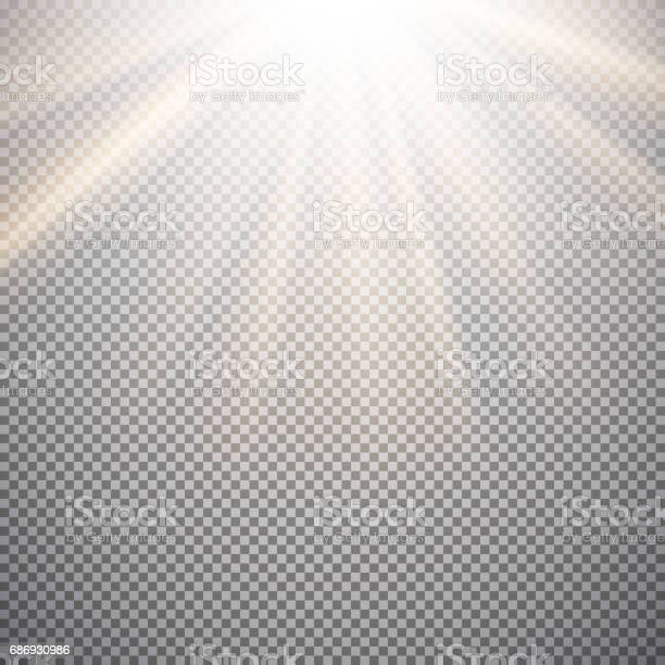 Photo of Light effect on a checkered background