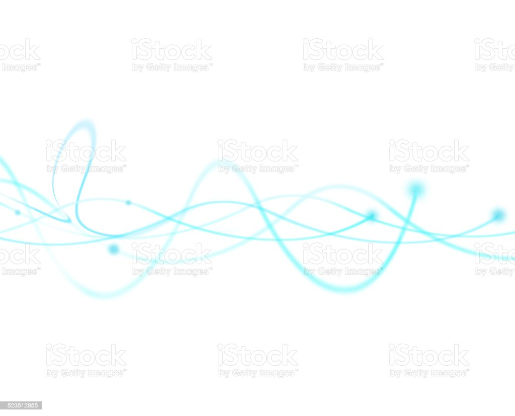 Light Energy Frequency Wave. stock photo
