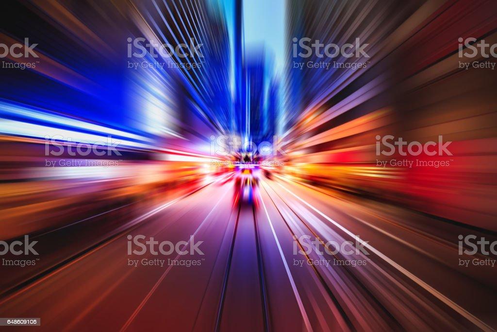 Explosion-Lichteffekt – Foto
