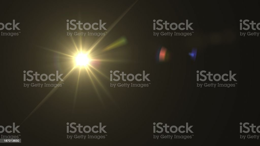 light expose center stock photo