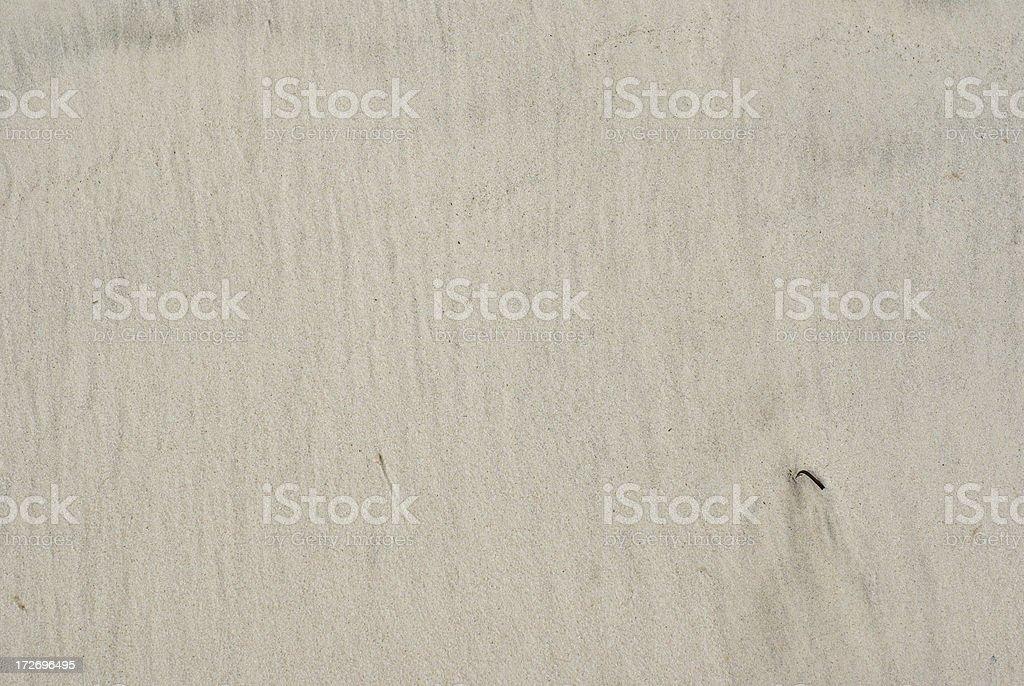 Light flat wet sand background stock photo