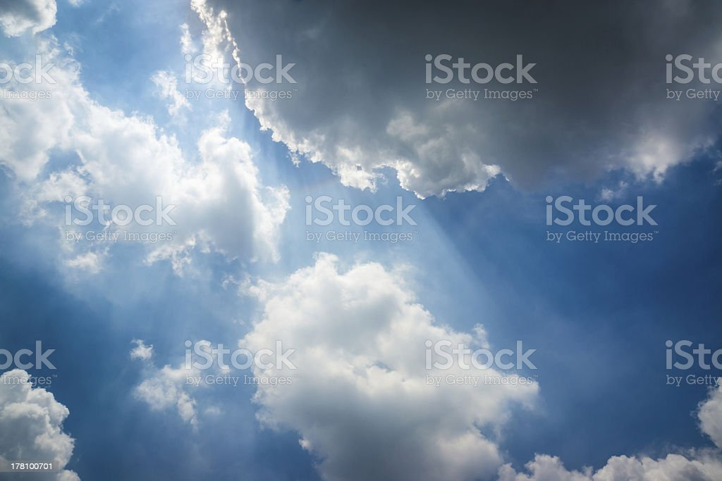 Light from Heaven royalty-free stock photo