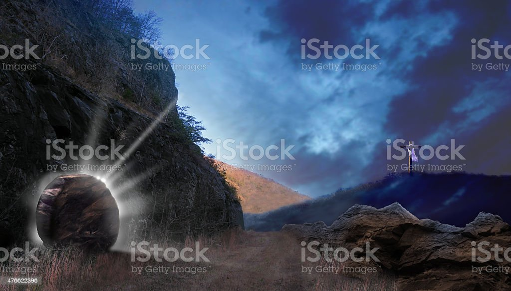 Light from the Tomb stock photo