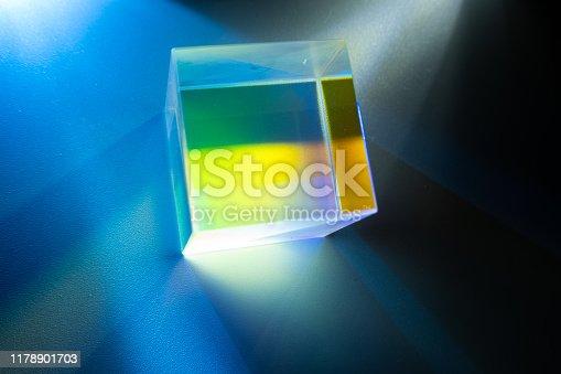 light go through splitter spectroscope